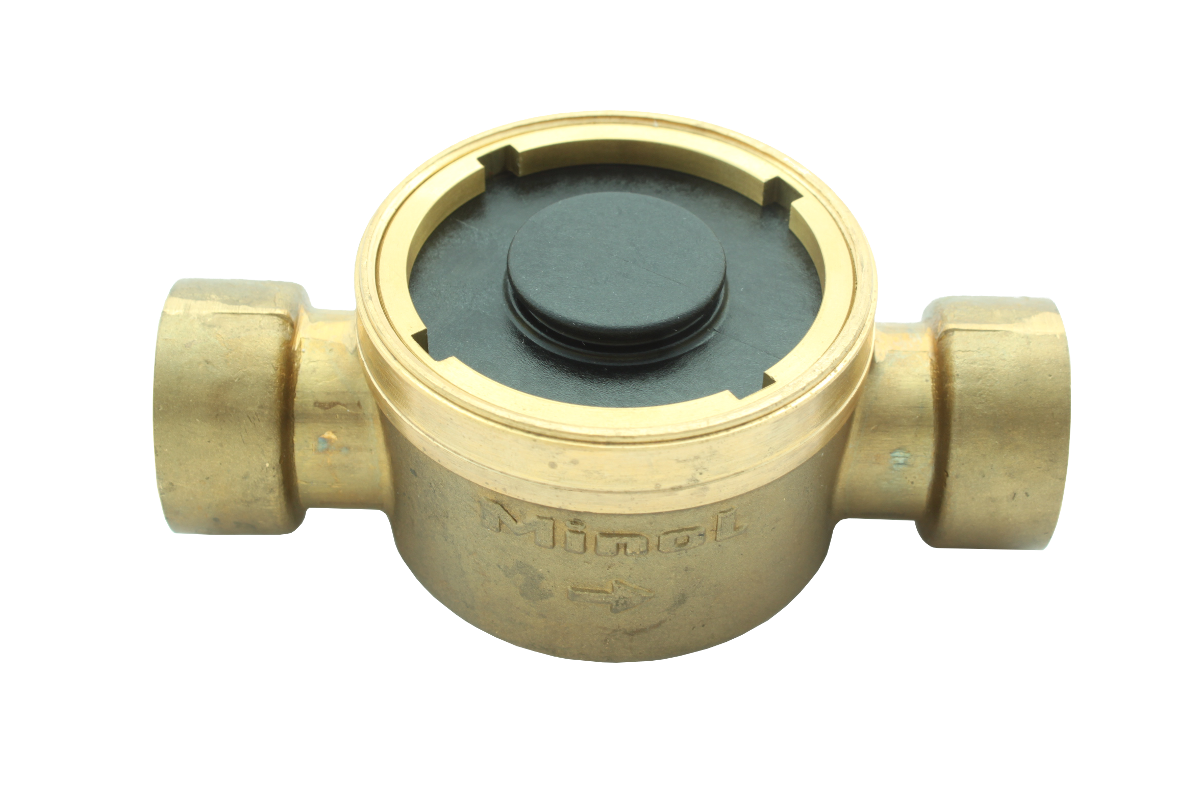 Unterputzteil für Minomess Unterputzzähler micro Lötanschluss 22mm 110 vollständig