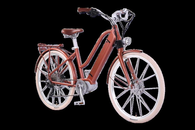 E-Bike EGO Movement Classic 25 Woman bronze Frontansicht