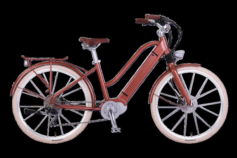 E-Bike EGO Movement Classic Woman 25 bronze Seitenansicht