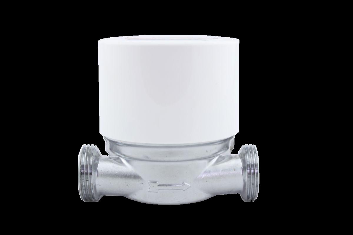 Minomess Aufputzzähler mit Moduloption Baulänge 80mm G3/4B