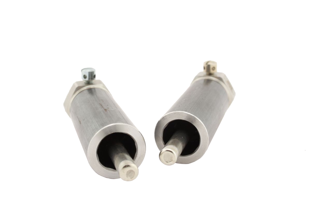 """TH-Set Edelstahl R1/2"""" 6x105mm für Rohrgrößen DN32-40"""