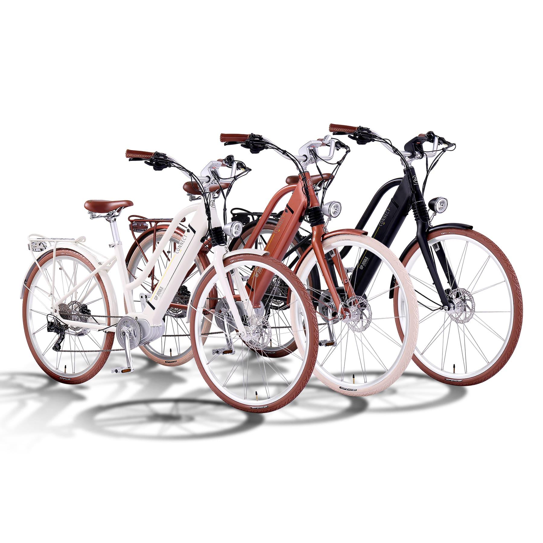 E-Bike EGO Movement Classic Woman 25 alle Farben Vorderansicht