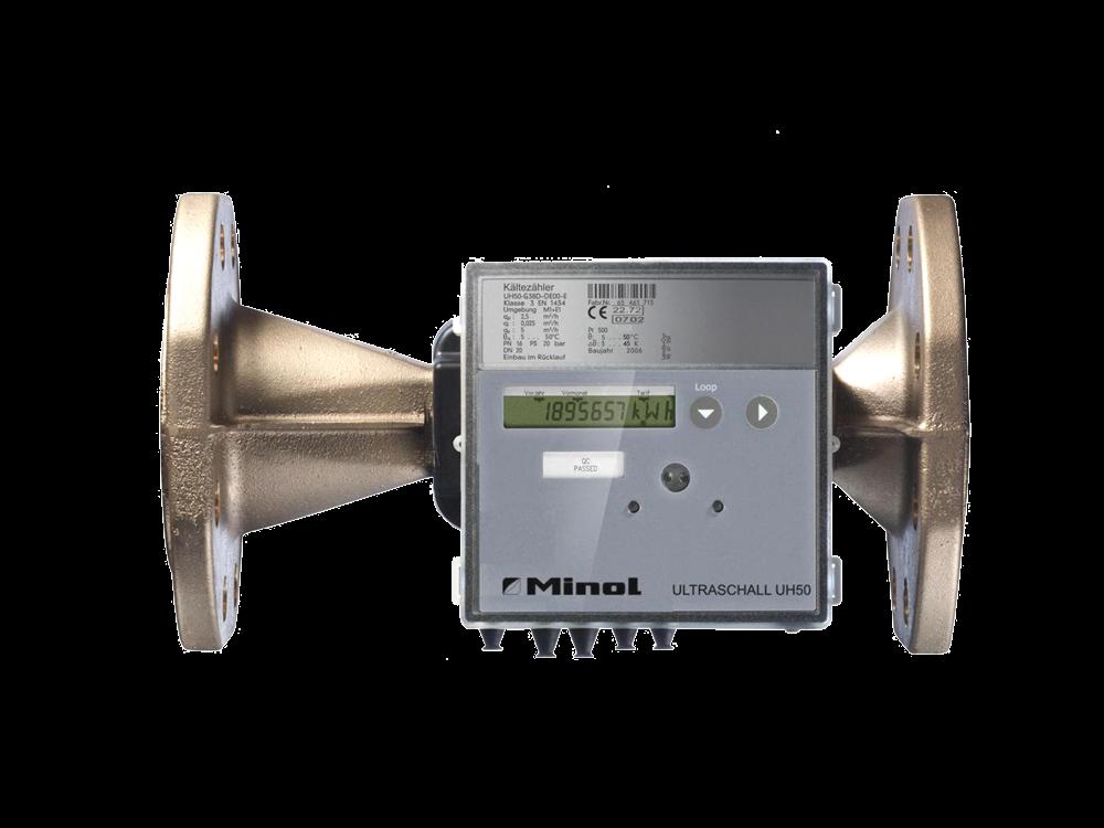 Klimazähler Minol Ultraschall UH50 Flansch
