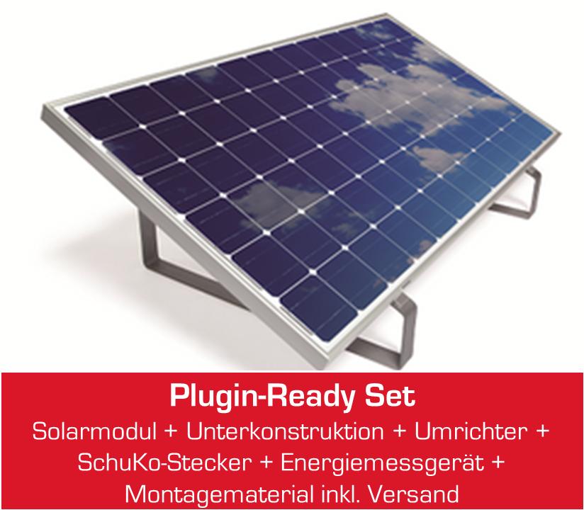 miniJOULE plug&play Solaranlage für Zuhause