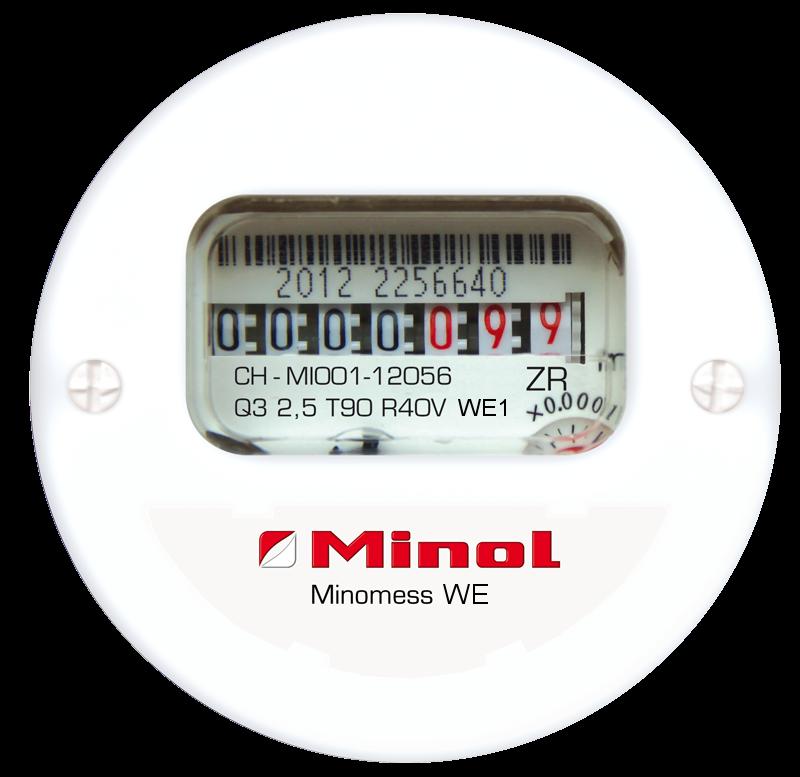 Minomess® WE Unterputzzähler