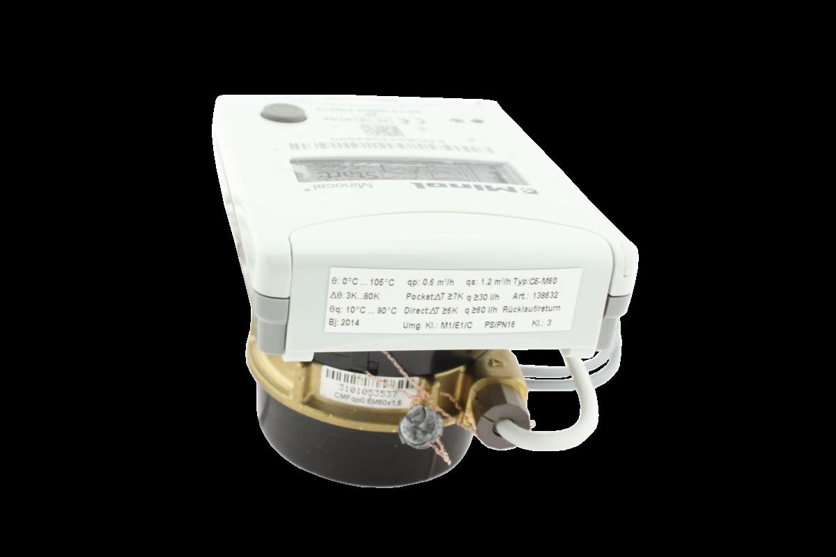 Brunata Minol Minocal® Combi C5-CMF M60 Messkapselausführung mit Einbauset