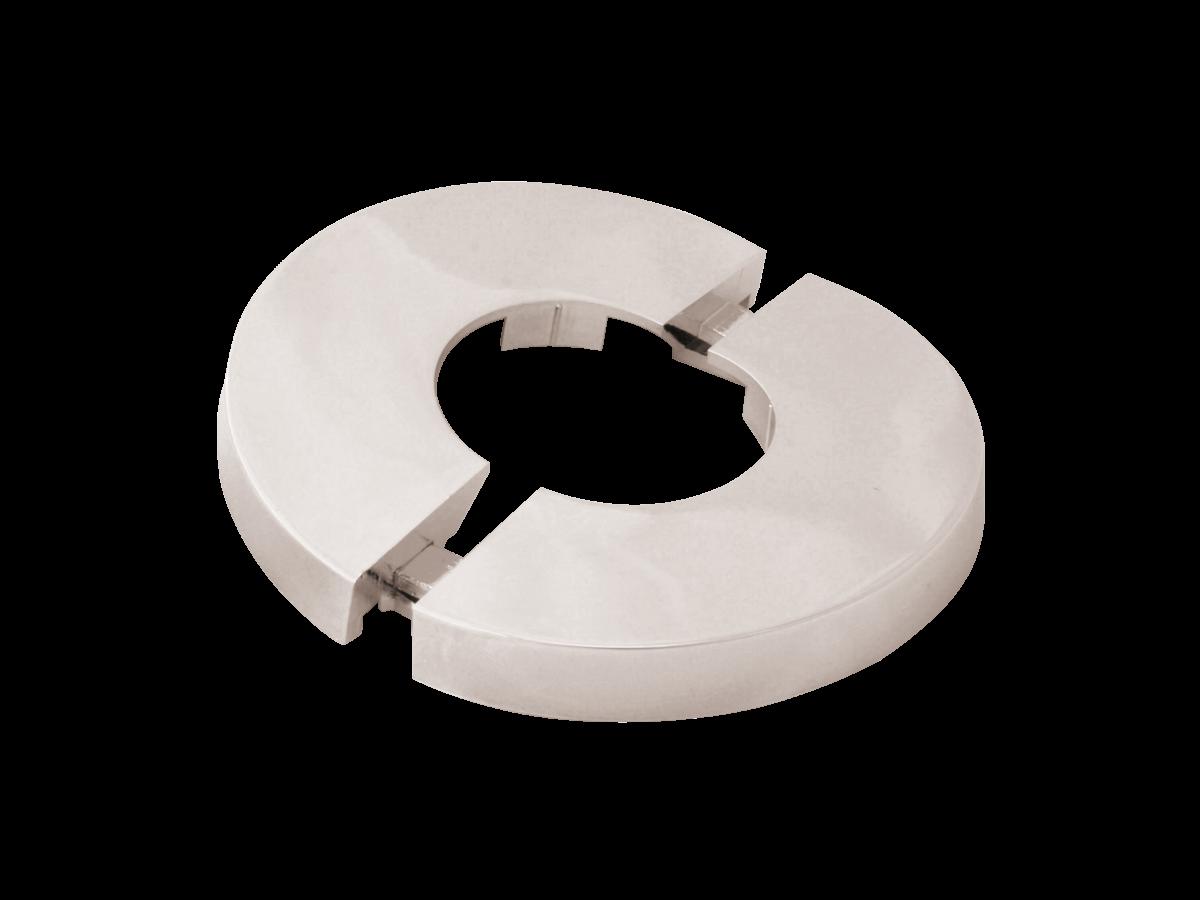 Rosette für Ventilzähler MC dm80x102, teilweise verchromt
