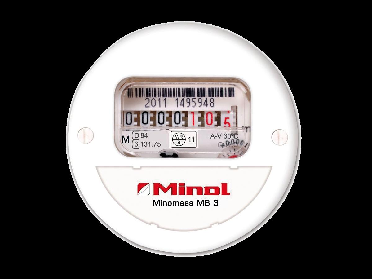 Brunata Minol Minomess® MB3 Unterputzzähler