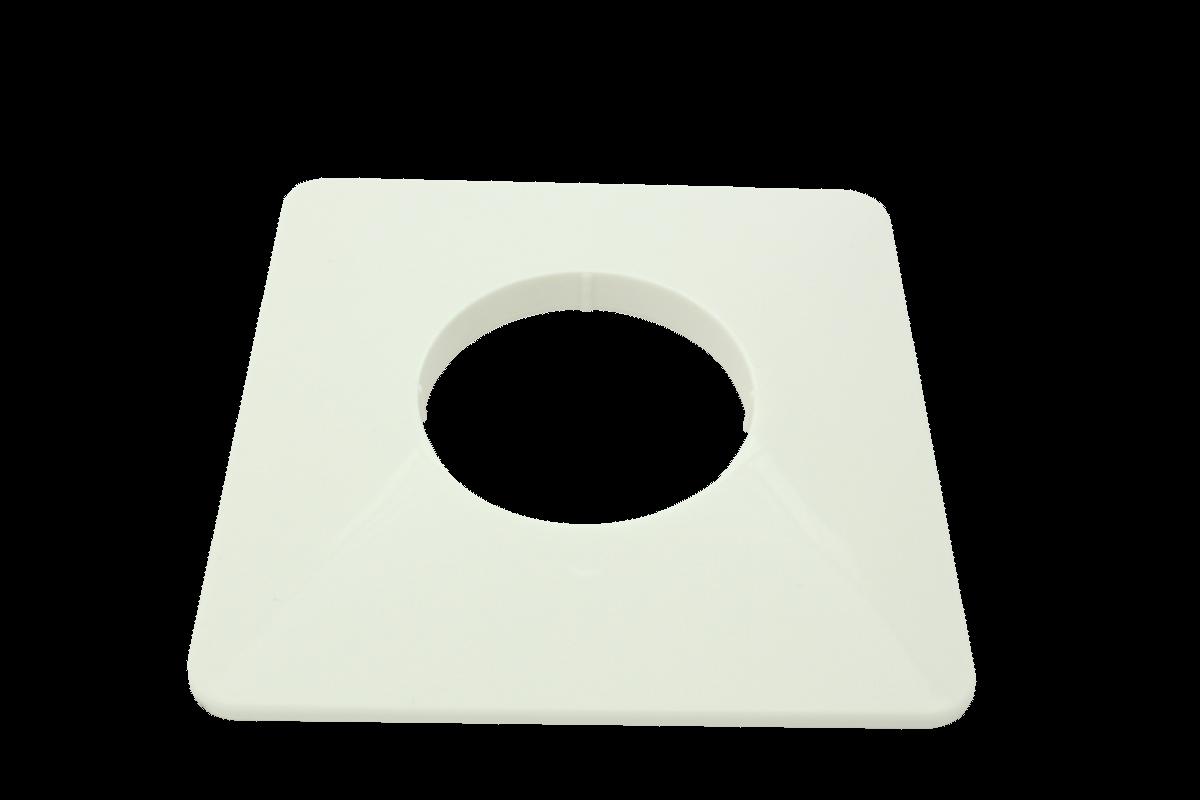 Ros. f. Kasten-UPT 137x137x10 weiß