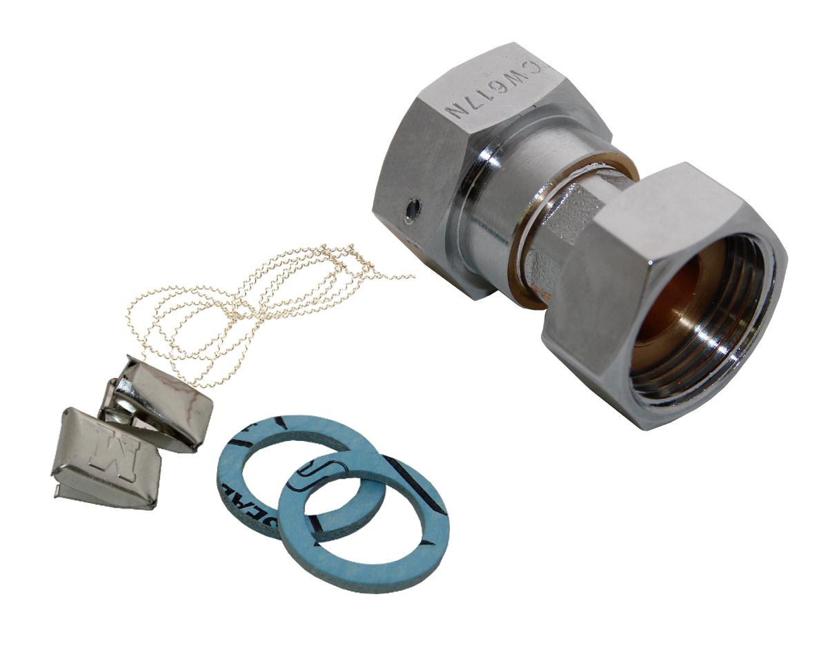 Zapfhahnzähler Minomess® Spezialanschluss zur Montage an Wasserhähnen