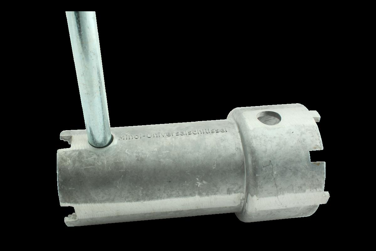 Minol Universalschlüssel mit Griff